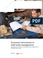 2015 Economic Instruments in Solid Waste Management