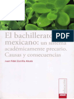 El Bachillerato Mexicano Un Sistema Academicamente Precario