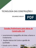 Tecnologia Das Construções i