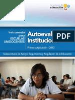 12. Autoevaluación Institucional_Instrumento Unidocentes