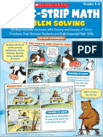 Dan Greenberg Comic-Strip Math Problem Solving 80 Reproducible Cartoons With Dozens and Dozens of Story Problems That Motivate Students and Build Essential Math Skills