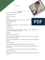 Curriculum v Agustin