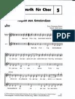 Tulpen Aus Amsterdam Ladies' Chorus SSA (Mit Klavier Begleitung)