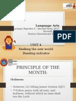 7th Language Arts - Second Period-2017