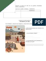cuadernillo  de  PUEBLOS ORIGINARIOS 2° BÁSICO