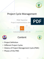 6. Project Cycle Management