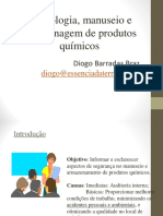Aula 03 - Simbologia, Manuseio e Armazenagem de Produtos Químicos