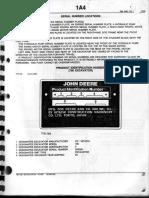 JOHN DEERE 790 DL 2DA