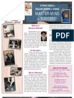 Master Mind Brochure
