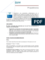 Propafenona
