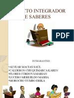 Diapositivas Proyecto Integrador de Saberes