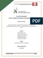 ANÁLISIS GEOLÓGICO Y GEOMECÁNICA DEL MACIZO ROCOSO DE LA ZONA  COMPRENDIDO ENTRE SHAULLO CHICO Y LLACANORA PARA LA CONTRUCCIÓN DE UN   TUNE