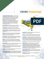 Crane Terminology