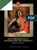 LUIS E. NINAMANGO J. - Encubrimiento y usurpacion de América.pdf