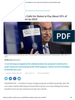 Route Fifty -  In Trump Budget  SNAP Cuts, States to Pay 25%