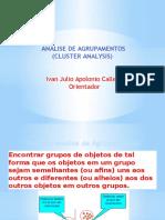 Apresentação Analise de Cluster