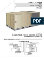 Paquete 7.5 - 10.0 Tons Heat Pump