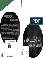 A Adolescência - Contardo Calligaris