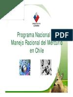 Programa Nacional Del Manejo Racional Del Mercurio en Chile