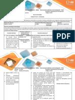 Guia de Actividades y Rúbrica de Evaluación Fase 3. Articulación