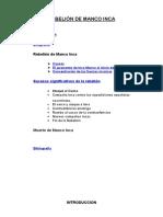 Rebelion de Pizarro