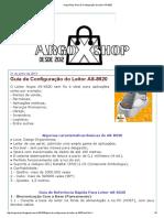 ArgoxShop_ Guia de Configuração Do Leitor as-8520