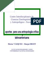 Libro Vázquez & Bigot