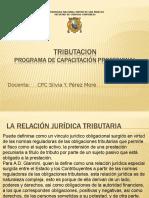 RELACION JURIDICA TRIBUTARIA