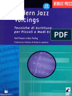 Pease, Ted - Modern Jazz Voicings
