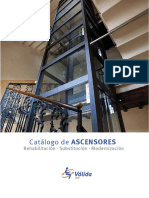 Catalogo Tecnico Ascensores