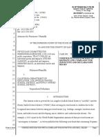 """PCRM's """"processed meat"""" lawsuit"""