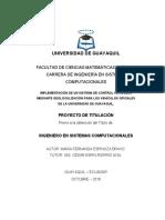 Monitoreo por Geolocalización de vehículos de la Universidad