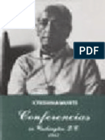 Conferencias en Washington D.C. - Jiddu Krishnamurti