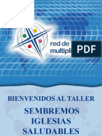 2a SIS Presentacion Sembremos Iglesias Saludables