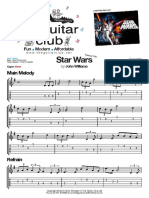 Star Wars - Melody (the Guitar Ltd Club London UK) Theguitarclub@Hotmail.co.Uk