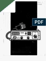 Icom ICB1050 UK CB radio - Instructions schematic