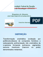 Aula Bioquímica Polifenoloxidases