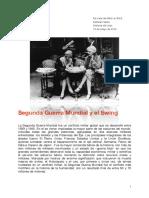 Segunda Guerra Mundal y El Swing