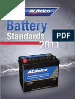 Catalogo de Baterias