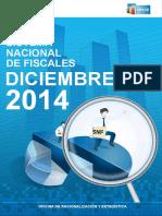 Resumen Estadístico Diciembre 2014 Sistema Nacional de Fiscales