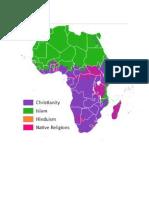 Religión en África