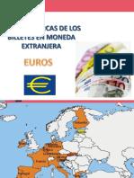 características de billetes en monedas extranjeras