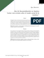 Montecinos_Los Estudios de La Descentralización