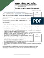 Acta Compromiso MATUTINA