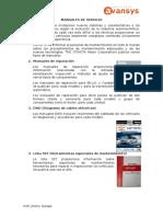 Manuales de Servicio 1