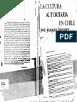 La cultura autoritaria - J.J.B.