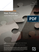 Deutsche Asset Management Alternatives Risk Premia Paper