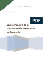 Caracterización de La Contaminación Atmosférica en Colombia 01