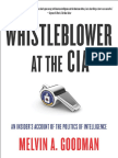 Table of Contents and Introduction to Whistleblower at the CIA