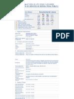 Modelo de Licitación Penal P.